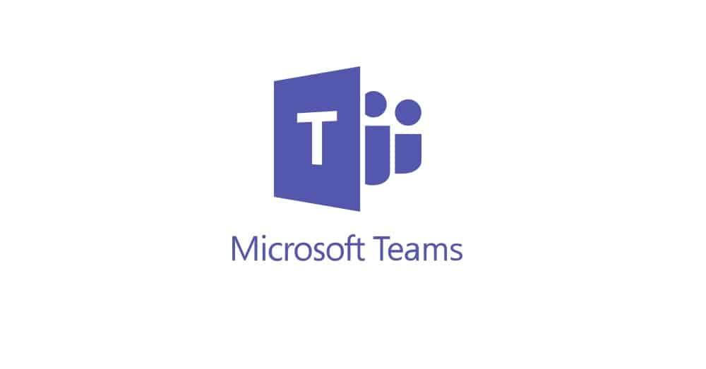Logo microsoft Teams usada em audiência jurídica virtual